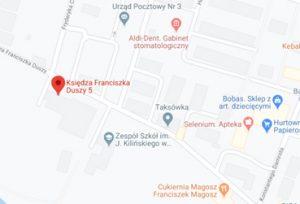 Invito outlet mapa dojazdu