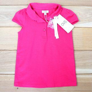 Koszulka polo dziewczęca rozmiar 128