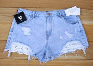 Szorty jeansowe damskie rozmiar 40