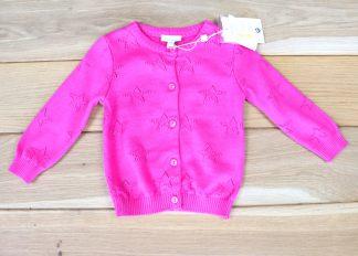 Sweter dziewczęcy rozmiar 68