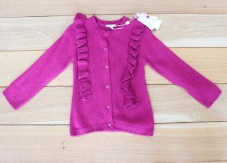 Sweterek dziewczęcy, rozmiar 86