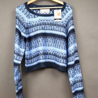 Krótki sweterek damski, rozmiar M/L