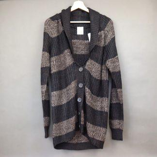 Długi sweter damski, rozmiar L