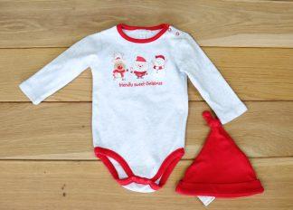 Body niemowlęce i czapeczka, rozmiar 62