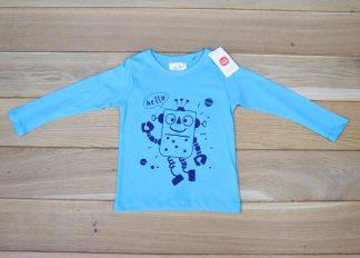 Koszulka chłopięca z długim rękawem, rozmiar 92