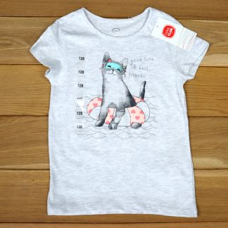 T-shirt dziewczęcy rozmiar 128