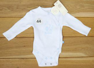 Body niemowlęce z długim rękawem, rozmiar 56