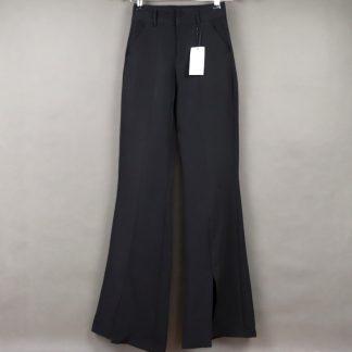 Spodnie damskie z szeroką nogawką rozmiar 40