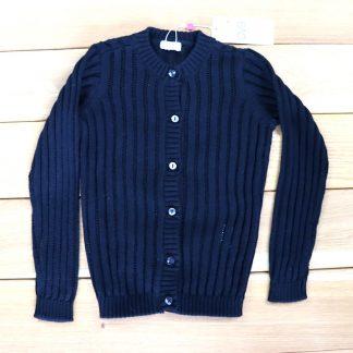 Sweter dziewczęcy rozpinany, rozmiar 116