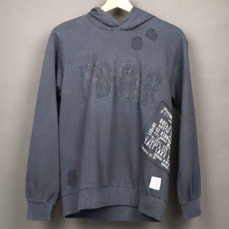 Bluza chłopięca z kapturem rozmiar 158