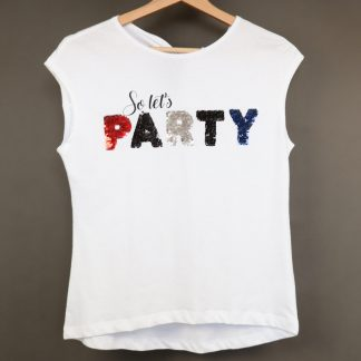 Koszulka dziewczęca z krótkim rękawem rozmiar 152