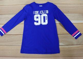 Koszulka dziewczęca z długim rękawem ,rozmiar 140