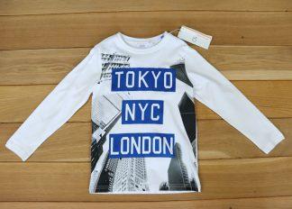 Koszulka chłopięca z długim rękawem rozmiar 116