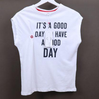 Koszulka dziewczęca bez rękawów, rozmiar 140