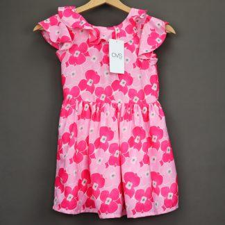 Sukienka dziewczęca w kwiaty rozmiar 116