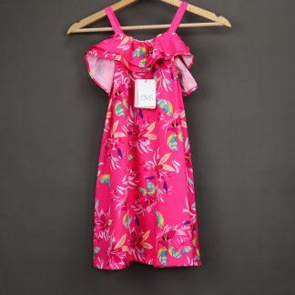 Sukienka dziewczęca na ramiączkach rozmiar 128