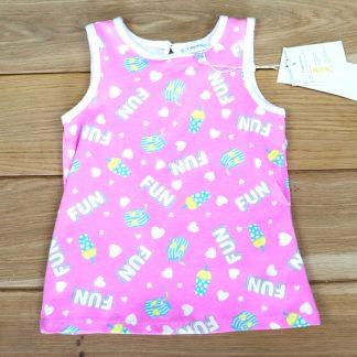 Koszulka dziewczeca bez rękawów rozmiar 86