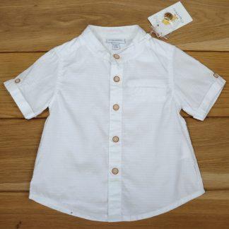 Koszula chłopięca z krótkim rękawem rozmiar 62