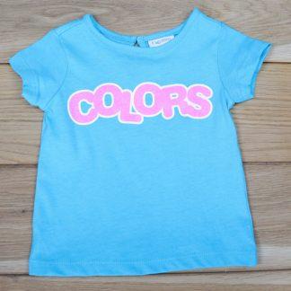 Koszulka dziewczęca z krótkim rękawem, rozmiar 62
