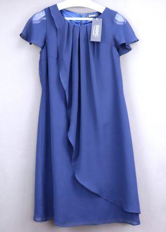 Sukienka damska z krótkim rękawem, rozmiar 38